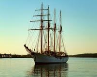 Wysoki statku Halifax schronienie 2017 Obraz Stock