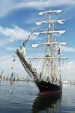 Wysoki statku Regatta Varna, Bułgaria Obrazy Stock