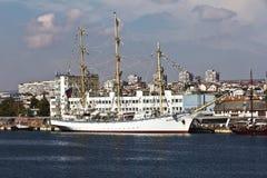 Wysoki statku Regatta Varna, Bułgaria Zdjęcia Stock