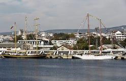 Wysoki statku Regatta Varna, Bułgaria Fotografia Stock
