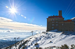 Wysoki Tatras, Sistani Fotografia Royalty Free