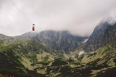 Wysoki Tatras w Sistani w lecie, widok góry, domowe góry w tle Obraz Stock