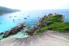 Wysoki widok od wysp Zdjęcie Stock