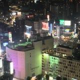 Wysoki widok Shibuya obraz stock