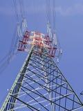 Wysoki woltaży pilonów widok od above Zdjęcie Royalty Free