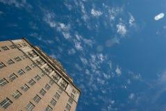 wysoki wzrost budynku. obraz royalty free