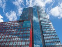 wysoki wzrost budynku Fotografia Royalty Free