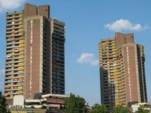 wysoki wzrost budynku. Zdjęcia Royalty Free