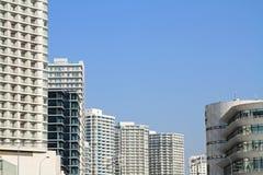 Wysoki wzrosta kondominium w Yokohama Minatomirai 21 Zdjęcia Royalty Free
