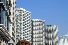 Wysoki wzrosta kondominium w Yokohama Minatomirai 21 Fotografia Royalty Free