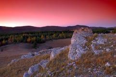 wysokich gór skały Obraz Stock