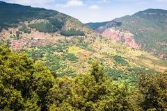 Wysokie atlant góry w Morocco Zdjęcia Royalty Free