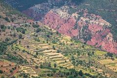 Wysokie atlant góry w Morocco Zdjęcie Royalty Free