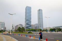 wysokie budynki Obraz Stock