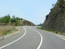 wysokie góry drogowe Fotografia Stock