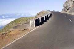 wysokie góry drogowe Zdjęcie Stock