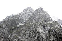 Wysokie góry na włoskich alps obraz stock