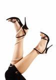 wysokie pięt nogi Zdjęcia Royalty Free