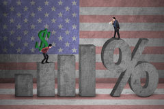 Wysokie stopy procentowe Zdjęcie Stock