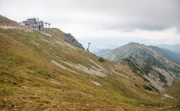 Wysokie Tatras jesieni góry Zdjęcia Stock