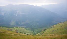 Wysokie Tatras jesieni góry Fotografia Stock