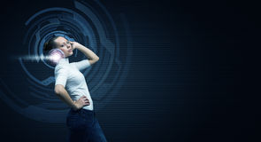 Wysokie technologie przyszłość zdjęcia royalty free