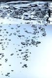 wysokie waterdrops definicji Zdjęcia Stock