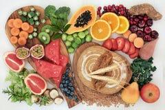 Wysokiego Żywienioniowego włókna Super jedzenie zdjęcie stock
