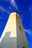 wysokiego budynku latarni morskiej niebo Fotografia Royalty Free