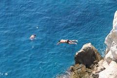 wysokiego skoku morze obrazy stock