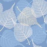 Wysokiego szczegółu zredukowanego liścia wektorowy bezszwowy wzór ilustracji