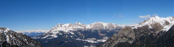 wysokiej góry śnieżna poniższa zimy Zdjęcie Stock