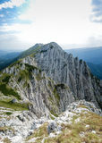 Wysokiej góry footpath zdjęcie royalty free