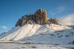 Wysokiej góry grań w Włochy alps Obraz Royalty Free