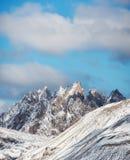 Wysokiej góry grań w Włochy alps Zdjęcie Royalty Free