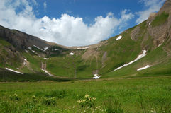 wysokiej góry paśnika lato Zdjęcia Royalty Free