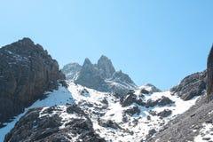 Wysokiej góry pasmo Fotografia Stock