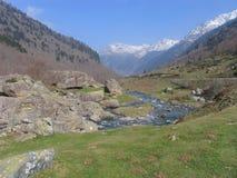 wysokiej góry rzeka Zdjęcie Royalty Free