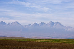 wysokiej góry Slovakia widok Obrazy Stock