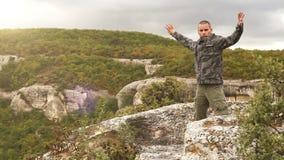 Wysokiej góry stażowa baza: oddychać ćwiczenia zdjęcie wideo
