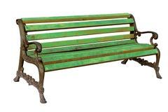 Wysokiej jakości eleganckiego rocznika parka żeliwna ławka Obrazy Stock