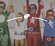 Wysokiej Jakości gatunku marketingu Biznesowa Oznakuje kopia Astronautyczny Concep obrazy stock