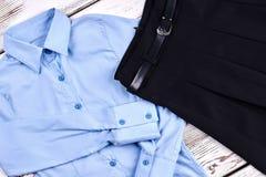 Wysokiej jakości dziewczyn szkolna bluzka Zdjęcie Stock