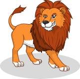 Wysokiej Jakości lwa kreskówki Wektorowa ilustracja Obrazy Stock