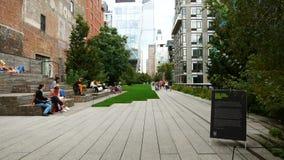 Wysokiej linii park, Manhattan zbiory wideo