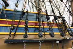 Wysokiej statek damy Waszyngtoński olinowanie Zdjęcie Royalty Free