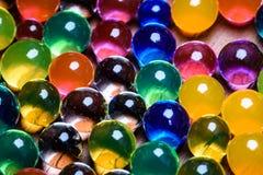 Wysokiej wody absorbant Kolorowy orbeez 5 obrazy royalty free