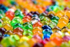 Wysokiej wody absorbant Kolorowy orbeez 2 obrazy royalty free