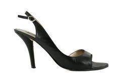 wysokość piętowe buta kobiety zdjęcie stock