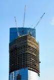 wysokość tła budowy budynków urzędu wysokiego nieba drapacze chmur Zdjęcie Royalty Free